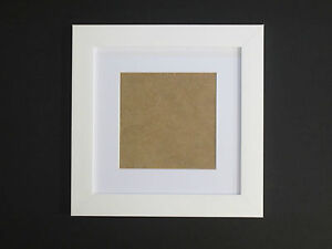 White 7x7 Square Picture Photo Frame Mount 475x475 Hang Ebay