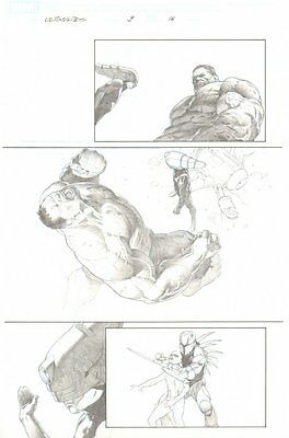 Ultimates, The #9 p.16 - Great Hulk and Reed Richards - 2012 art by Esad Ribic