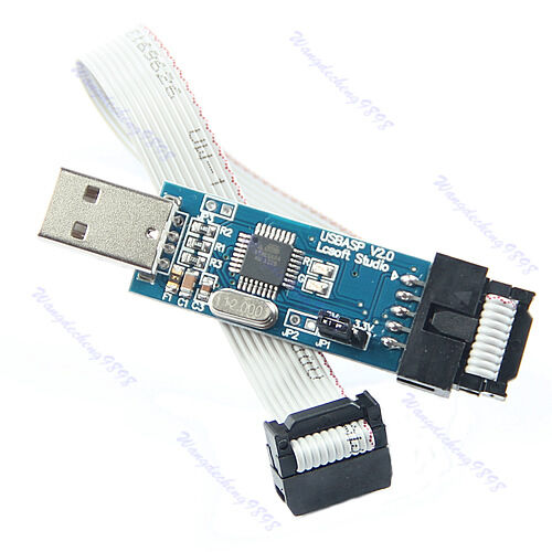 New 1pc USB ISP Programmer For ATMEL AVR ATMega ATTiny 51 Development Board