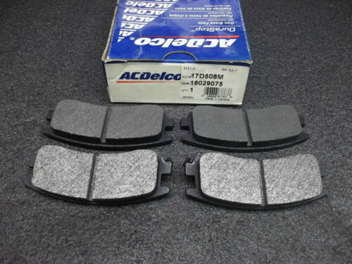 +New ACDelco DuraStop 17D508M Rear Brake Pads GM 18029075