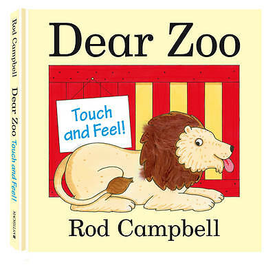 Dear Zoo Touch and Feel Book, Rod Campbell, New