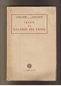TRAITE-DES-MALADIES-DES-VEINES-1950-LAUBRY-LOUVEL