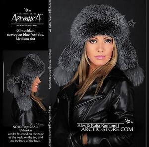 Bomber-aviator-ushanka-ranched-fox-fur-hat-for-women-made-in-Russia-ARKTIKA-tm