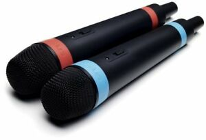 SINGSTAR-WIRELESS-MICROPHONES-FOR-PLAYSTATION-3-PS3-NEW