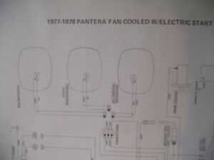Artic Cat Wiring Diagram 1977 1978 Pantera Fan Cooled | eBay