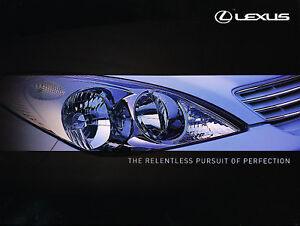 2001-Lexus-IS300-RX300-ES300-Sales-Brochure-UK-Version