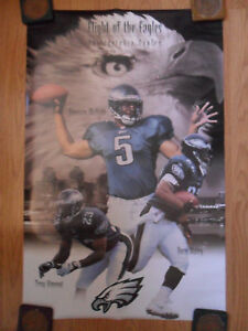NFL Football Poster Philadelphia Eagles Donovan McNabb Duce Staley Troy Vincent
