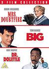 Big / Mrs Doubtfire / Dr Dolittle (DVD, 2011, 3-Disc Set)
