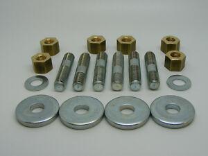 Classic-Mini-Manifold-Fitting-Kit-inc-Studs-Brass-Nuts-Washers-rover-austin-1275