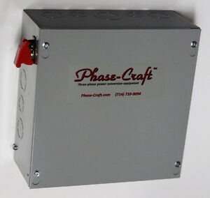 5-HP-ROTARY-PHASE-CONVERTER-CONTROL-PANEL-make-your-own-true-3-phase-power