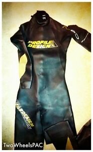 NWT-Profile-Design-Gold-Cell-Wetsuit-by-Aquaman-Men-039-s-Medium