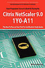 Basic Administration for Citrix Netscaler 9.0: 1y0-A11 Exam Certification Exam Preparation Course in a Book for Passing the Basic Administration for C by William Manning (Paperback / softback, 2010)