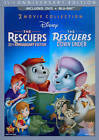 The Rescuers: 35th Anniversary Edition/The Rescuers Down Under (Blu-ray/DVD, 2012, 3-Disc Set, DVD/Blu-ray)