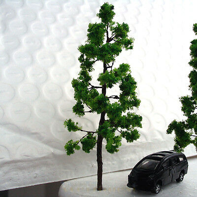 100 pcs Green Model Trees #G7027 for HO N scale layout