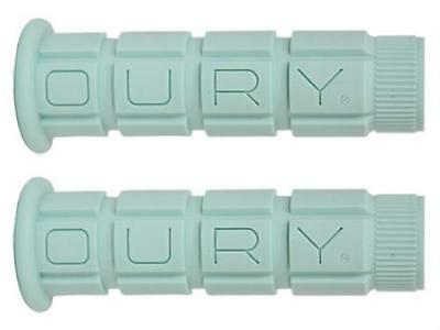 OURY MOUNTAIN BIKE MTB HANDLEBAR GRIPS CELESTE MINT SOFT GREEN