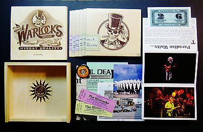 Grateful Dead Warlocks Sealed ! Cigar Box Set 6 CD Hampton Virginia 1989 NEW