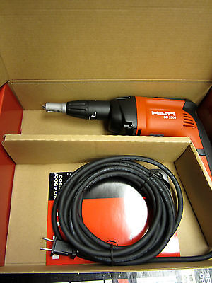 HILTI SD 2500 WOOD AND DRYWALL SCREWDRIVER, BRAND NEW, FREE HAT, FAST SHIP
