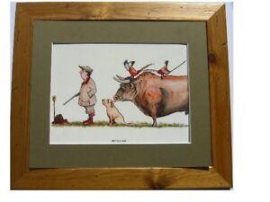 Shooting-Humour-Framed-Cartoon-Pheasants-Revenge-Bullocks-Country-Sports-Gift