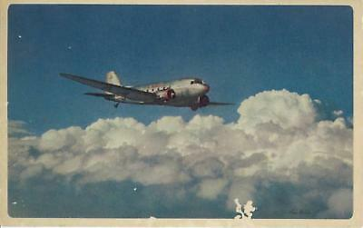 American Airlines 1940's Ivan Dmitri Flagship Postcard