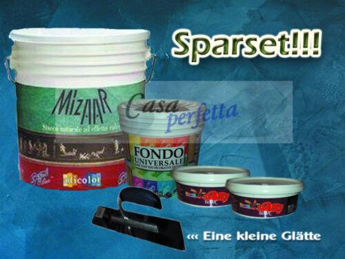Stucco Veneziano Grassello di Calce 22,5kg  Sparset Spachtelputz Marmorspachtel
