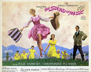 Julie-Andrews-in-The-Sound-of-Music-24x36-Giclee-Canvas-Classic-Movie-Poster