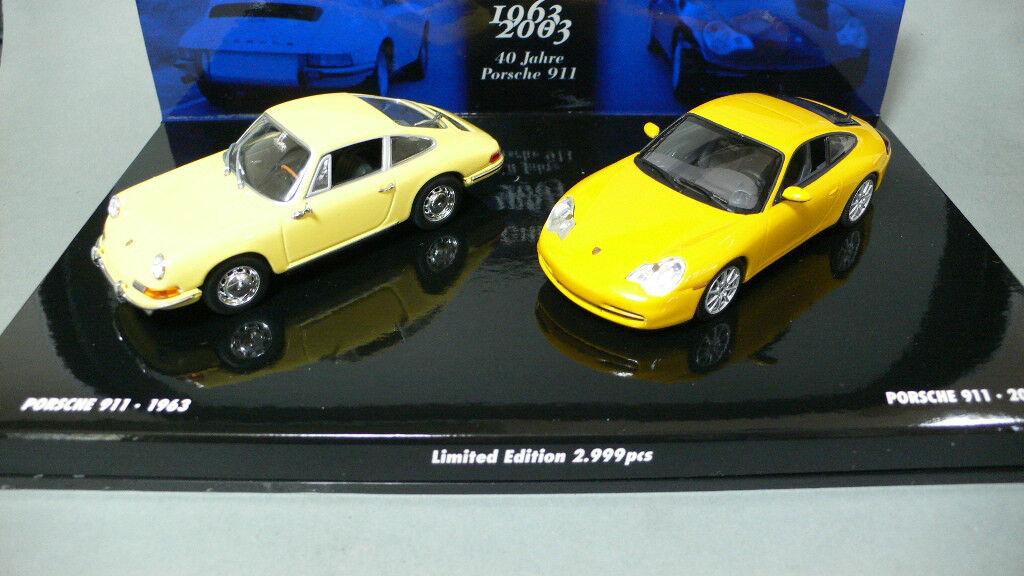 Porsche 911 zum 40. jahrestag hat 1963-2003 minichamps 402630311 1 43 verdoppeln