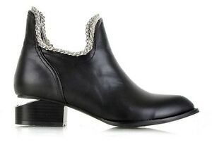 New-Hot-2012-Fashion-Women-039-s-punk-Med-straight-tip-Comfort-Shoes-UK2-6