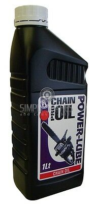 1 Litre Professional Chainsaw Chain Oil For Stihl Husqvarna FREE 100ML 2-STROKE