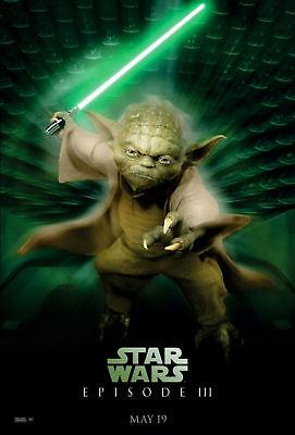 Movie Poster - Star Wars - Episode 3: Yoda  A3 / A4