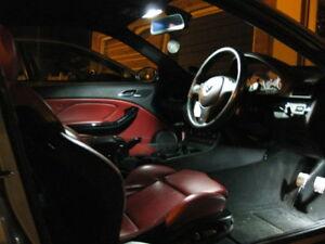 bmw 3 series e46 vert convertible led xenon white interior kit
