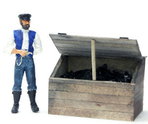 BANTA-MODELWORKS-COAL-BIN-F-G-Large-Scale-Railroad-Unpainted-Structure-Kit-BM912