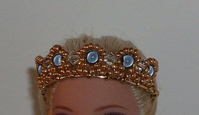 OOAK Art Doll/Fairy/Barbie Crown/Tiara -  U Pick Color