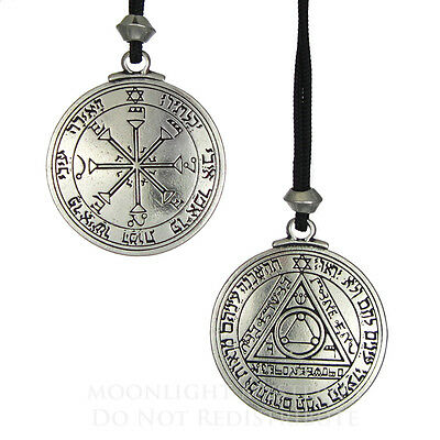Talisman Pentacle of the Sun Solomon Seal Pendant kabbalah Hermetic Jewelry