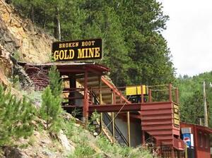 Ihre-eigene-GOLDMINE-amp-Grundstueck-in-ALASKA-Geschenkidee-statt-Adelstitel