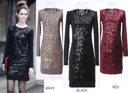Womens Diamond Black Ladies Evening Cocktail Party Dress Plus Size 14-24W