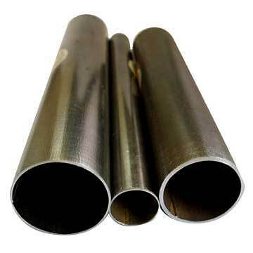 "3"", 76mm Mild Steel Exhaust Pipe, 1 metre, Tube"