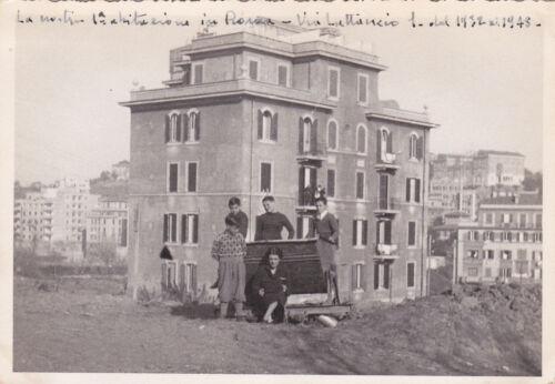 * ROMA - Balduina, Palazzina di Via Lattanzio 1933-1938