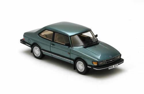 más vendido Maravilloso Neo-MODELCoche Saab Saab Saab 90 1982-verdemetallic-escala 1 43 - Edición Lim.  venta caliente