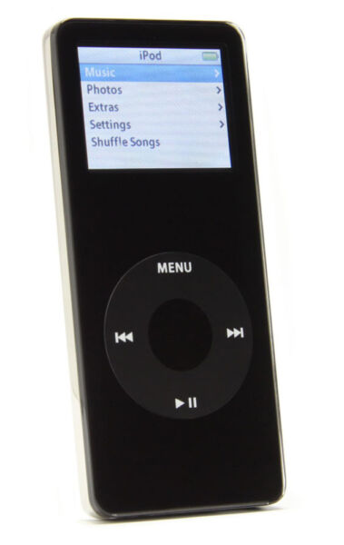 apple ipod nano 1st generation black 2 gb for sale. Black Bedroom Furniture Sets. Home Design Ideas