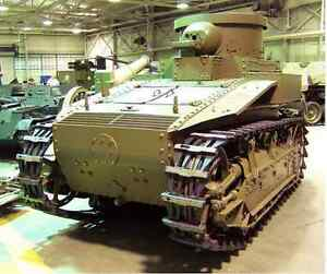 1/35 Pre WWII 1920's U.S. T1E2 Light Tank Resin Model Kit