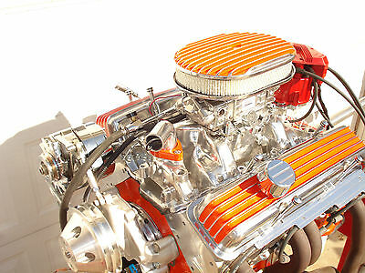 350  HI  PERFORMANCE CHEVY  ENGINE  BY CRICKET