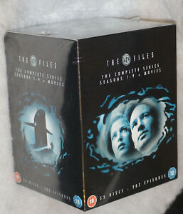 X-FILES-Seasons-1-9-2-Movies-Complete-Collection-DVD-Box-Set-SEALED
