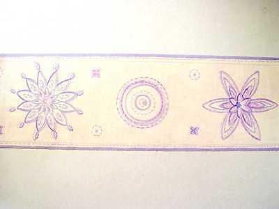 Alkor selbstklebende Bordüre Border 5m x 12,5cm lilac hell lila helllila 30305