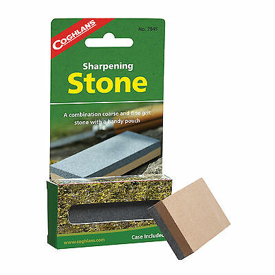 Coghlan's Sharpening Stone High Quality Coarse & Fine Grit Stone Knife Sharpener