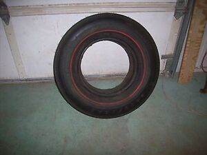 Nos Goodyear Red Stripe H70 X 14 Custom Wide Tread