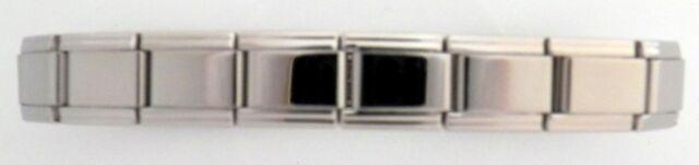 New Stainless Steel Italian Charm Modular Starter Bracelet Free Medical ID Card