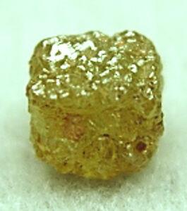 1+Carats 1 Natural Raw Uncut ROUGH DIAMONDS Cubes Gems