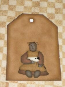 PRIMITIVE-12-PRIM-MAMMY-W-SHEEP-HANG-TAGS-PLP4-22