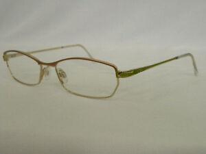 Eyeglass Frames Germany : CAZAL 490 601 GREEN GOLD MSRP USD300 EYEGLASSES GERMANY eBay