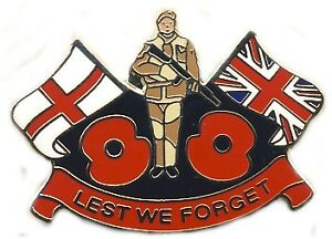 BRITISH-SOLDIER-LEST-WE-FORGET-POPPY-ENAMEL-PIN